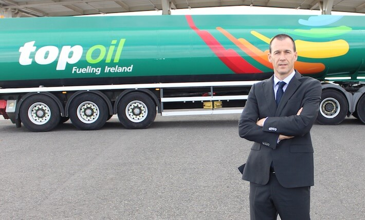 Gerard Boylan, CEO of Top Oil.