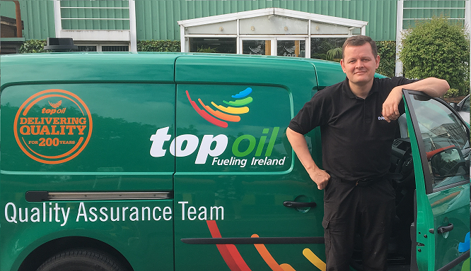 Quality Assurance Team at Top Oil