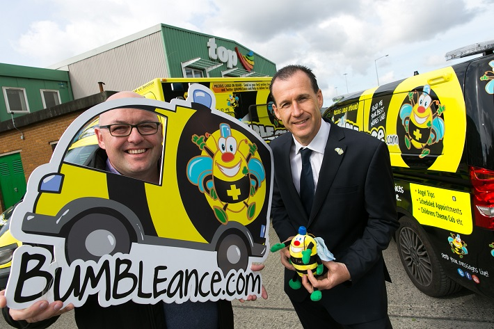 Top Oil Nominate Bumbleance as Charity Partner for the Southern Region