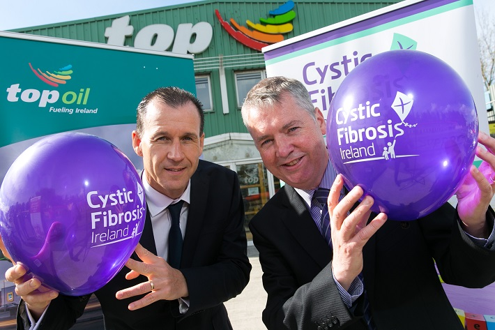 Top Oil Nominate Cystic Fibrosis as Charity Partner for the Northern Region
