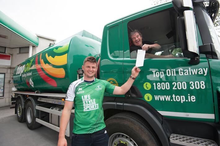 Top Oil Fuel partner of Connacht Rugby. (Photo: REG GORDON)