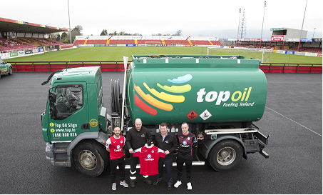 Top Oil Sligo Rovers Sponsorship