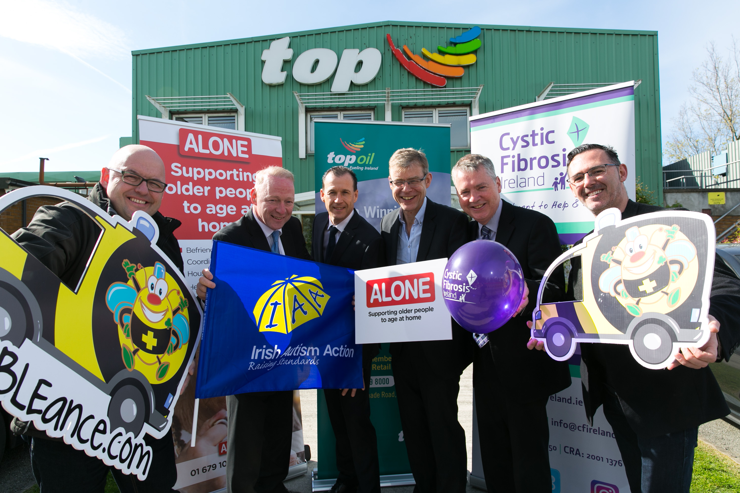 Top Oil Nominate Irish Autism Action for Charity Partner for Western Region