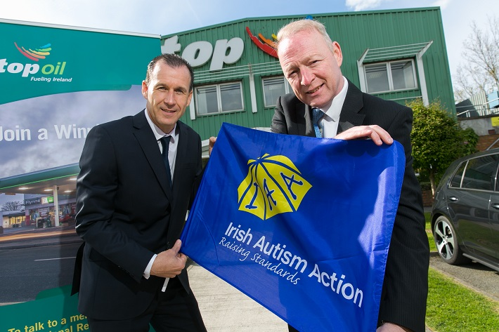 Top Oil Announce Irish Autism Action as Nominated Charity