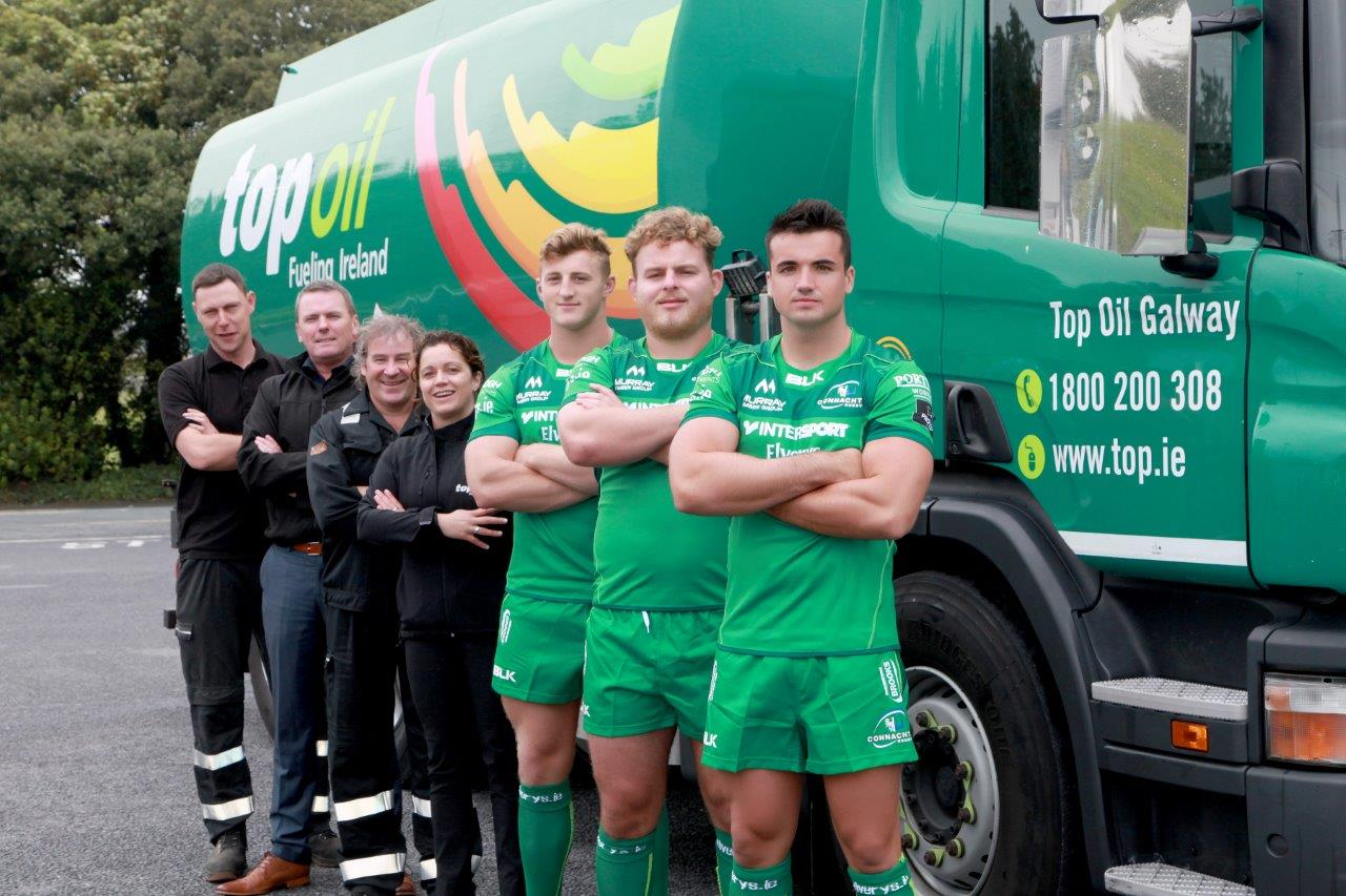 Connacht Rugby Top Oil Galway