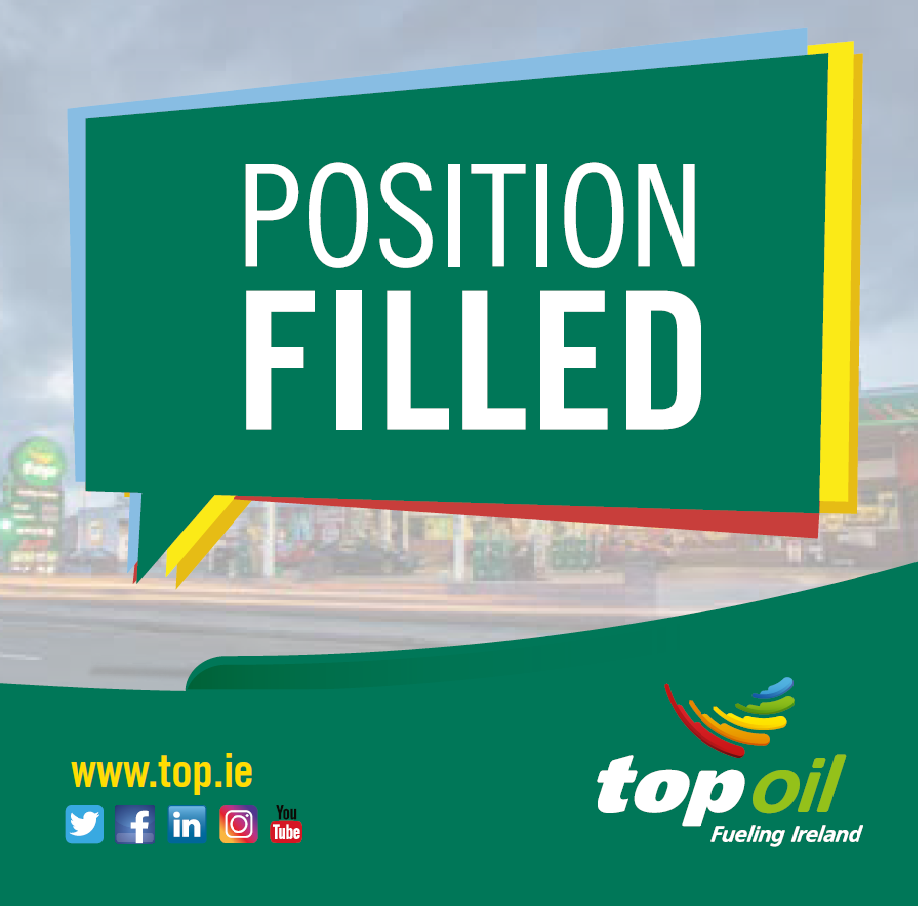Top Oil Career Position filled