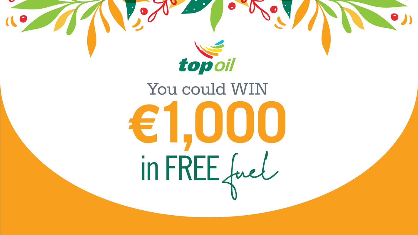 Win 1000 in Free Fuel with Top Oil