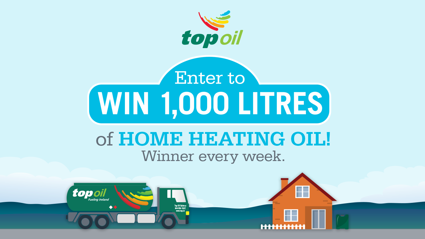 Top Oil Home Heating Competition 2020 Win 1000 Litres
