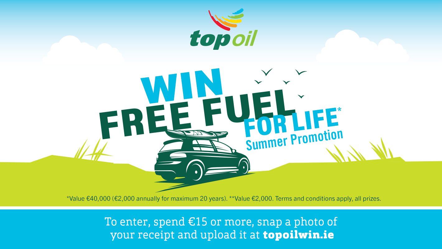 WIN Free Fuel for Life with Top Oil